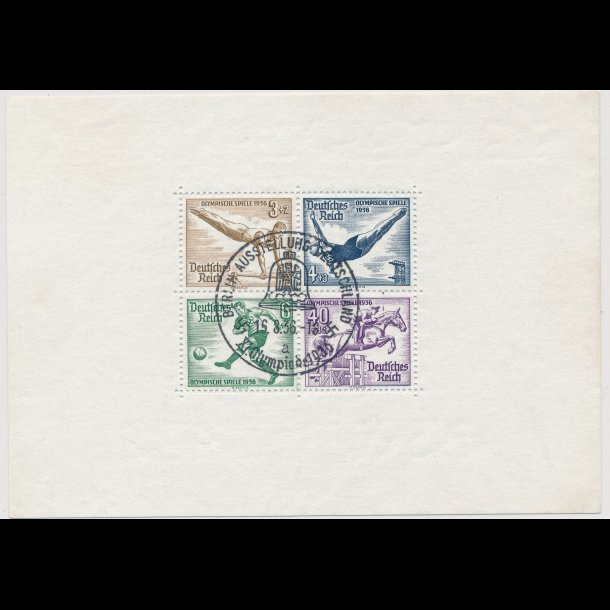 .619-26, 1936, Tyskland, blokke, ʘ,