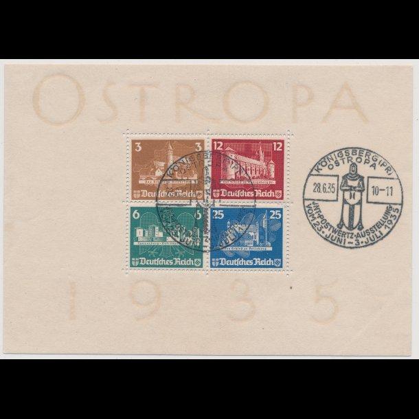.571-74, 1935, Tyskland, blok, ʘ