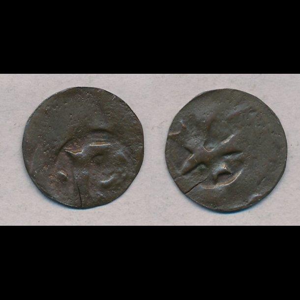 1319-1332, Christoffer II, pennig, Ribe, MB616,