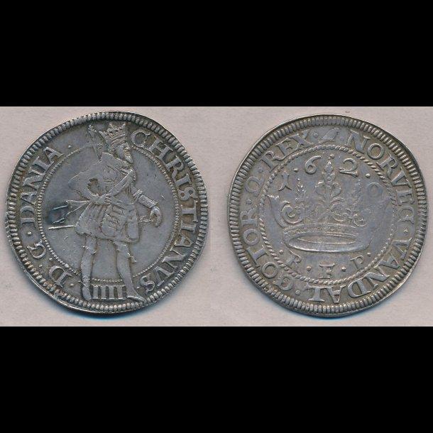 1620, Christian IV, krone, 01, H106C, S44