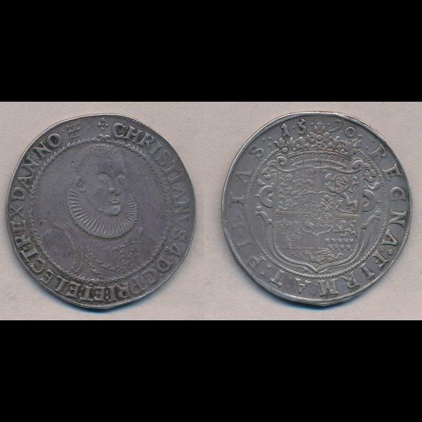 1590, Christian IV, 1 speciedaler, Prinsens Daler, 1+, H43, S1,