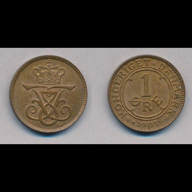 1912, 1 øre, 1+