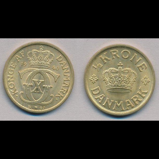 1940, ½ krone