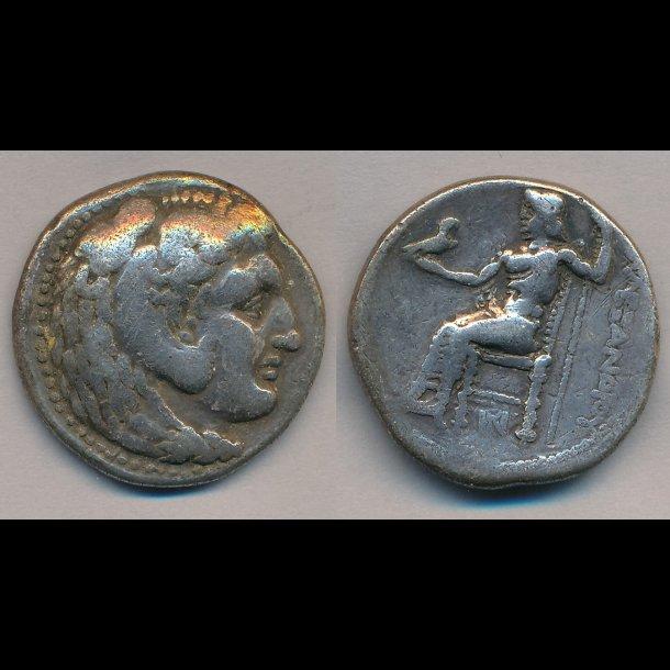 .336-323, Grækenland, Makedonien, Alexander den store, Tetradrakme