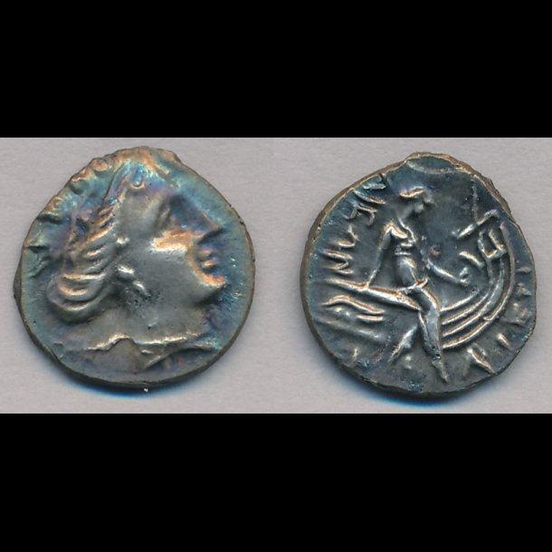 .300, Grækenland, Euboea Histiaia, tetrobol