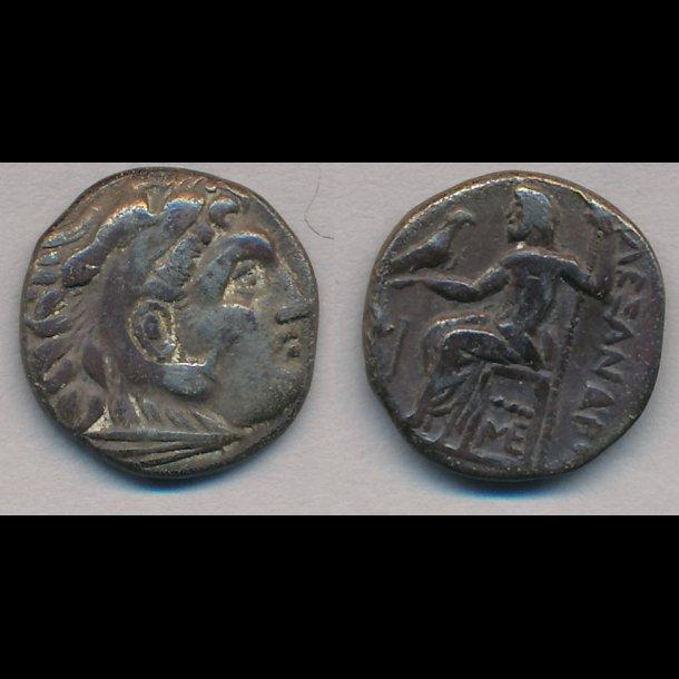 .336-323, Grækenland, Makedonien, Alexander den Store, drakme