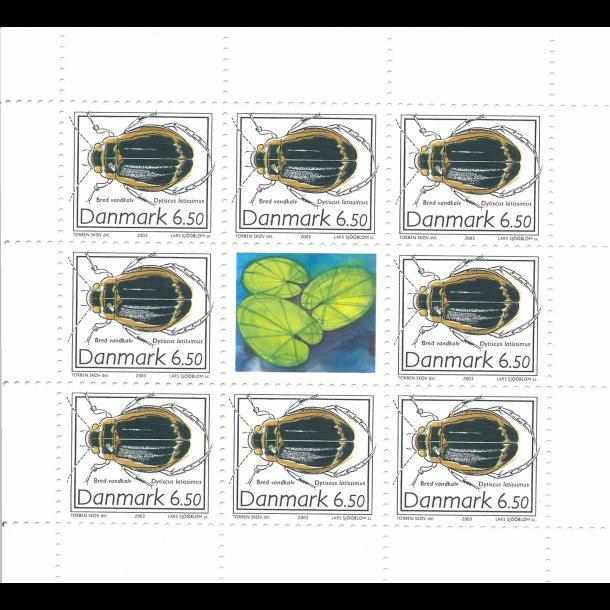 14, 6,50 kroner, insekter frimærker,