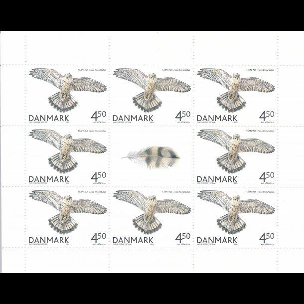 18, 4,50 kroner, rovfugle frimærker,
