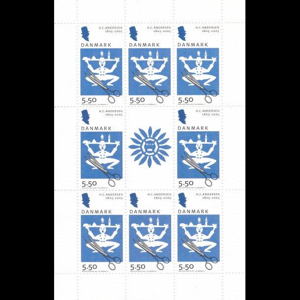 21, 5,50 kroner, H.C. Andersen frimærker,
