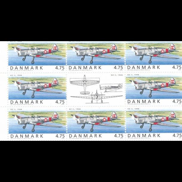 27, 4,75 kroner, flyvning frimærker