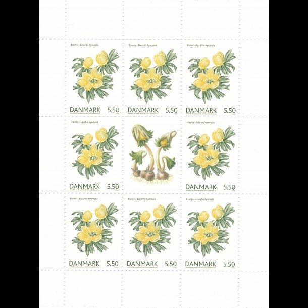 26, 5,50 kroner, blomster frimærker,