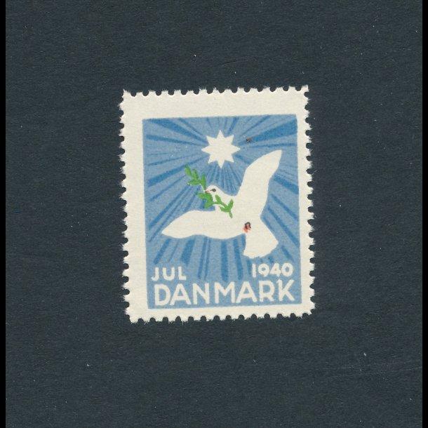 1940, Julemærker, Danmark, Fredsdue,
