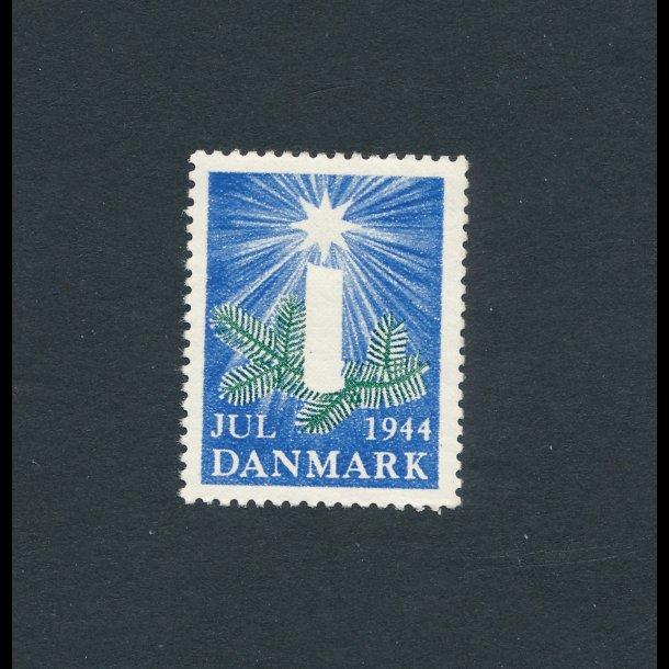 1944, Julemærke, Danmark, Grangren med lys,