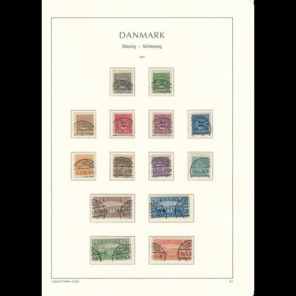 .15-28,  frimærker Danmark/Slesvig,  ʘ, (5086)