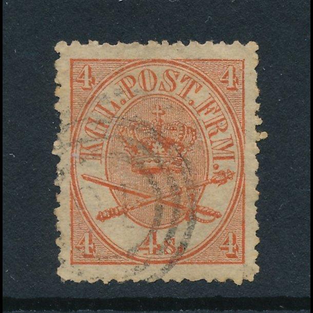 .14, ʘ, 1864-70, Danmark, Krone-Scepter-Sværd, 4361