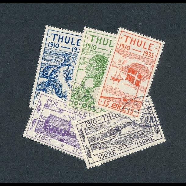 .1-4, ʘ, Thule, 1935, 25 året for stationens oprettelse,