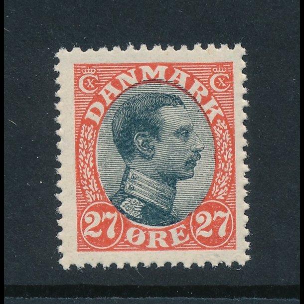 .102, 27 øre frimærke, **, Christian X, 4373