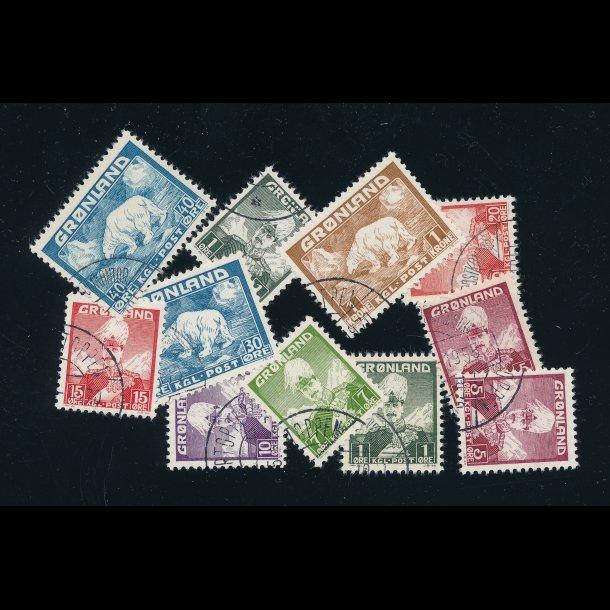 .1-7 og .26-27, ʘ, Kong Christian X og isbjørn,  4508