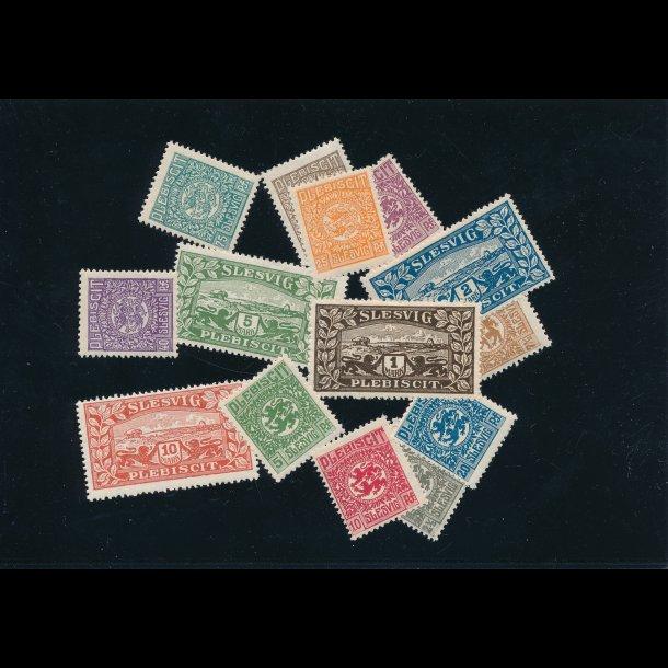 .15-.28 Danmark/Slesvig, 1920, *, 4811A