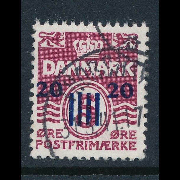 .4, ʘ, 1941 Færøprovisorier, med 2 stempler, 4569