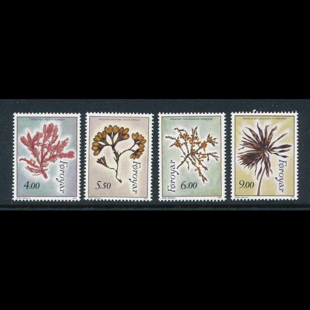 .284-87, **, Færøske frimærker, tangplanter, komplet sæt, 4993