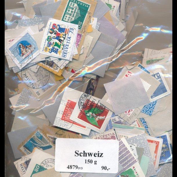 150g Schweiz, brevklip, 4879, (013),