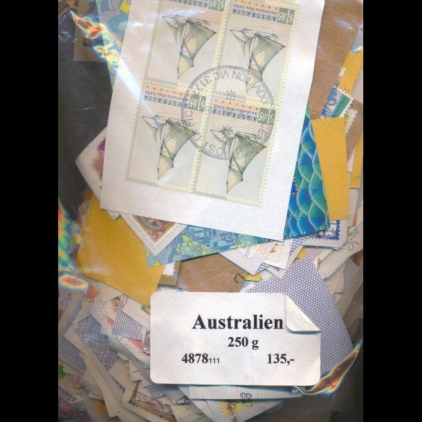 250g Australien, brevklip, 4878, (111),