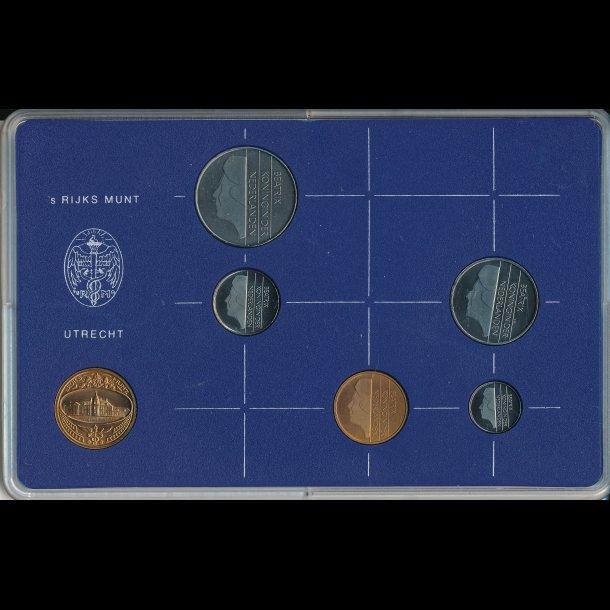 1984, Holland, møntsæt,