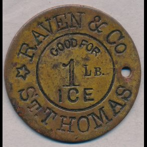 Dansk VestIndien private mønter