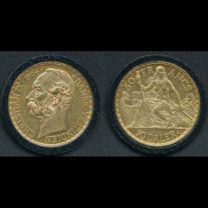 Guldmønter Dansk Vestindien