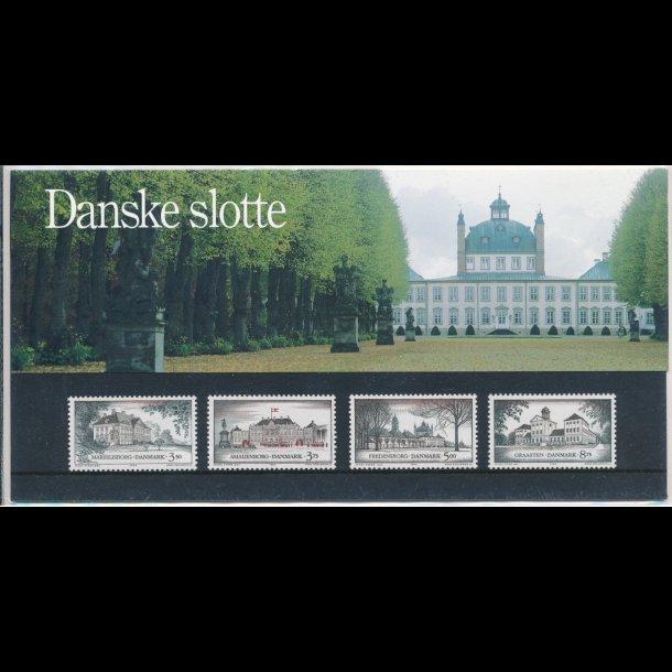 14, Danske slotte, 17.3.1994, AFA nr. 1062-65