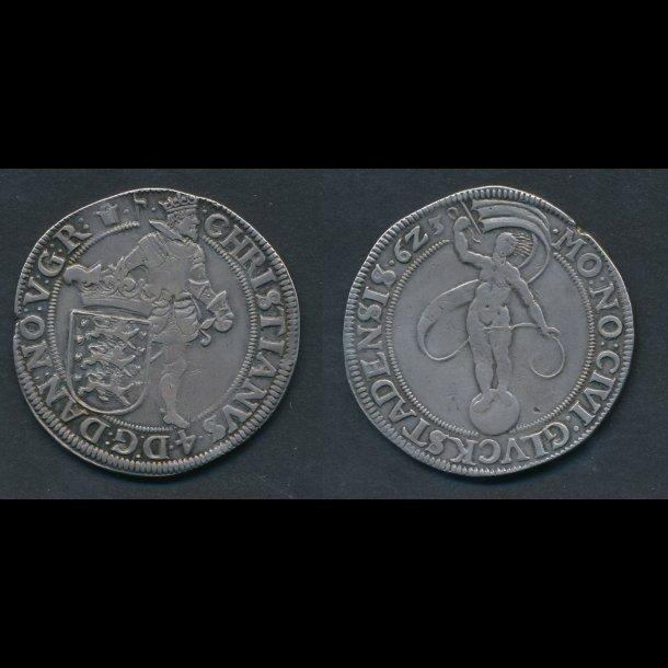 1623, Christian IV, speciedaler, H156, 1+