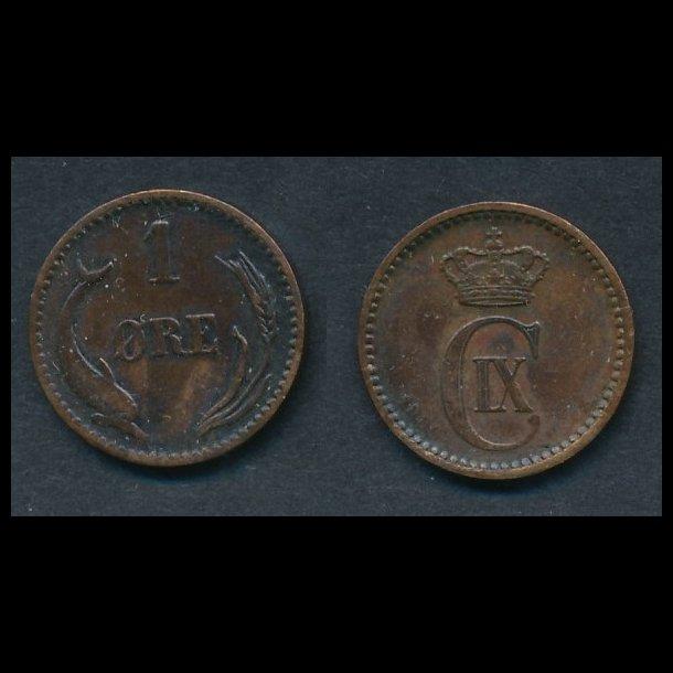 1886, 1 øre, 1(+)