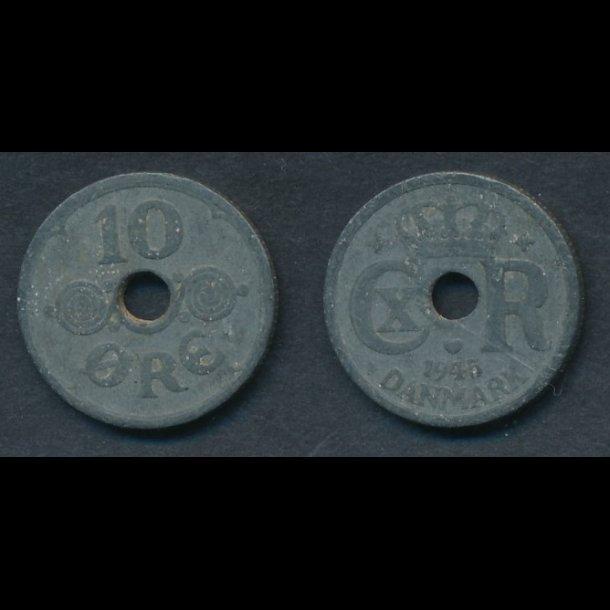 1945, 10 øre, 1