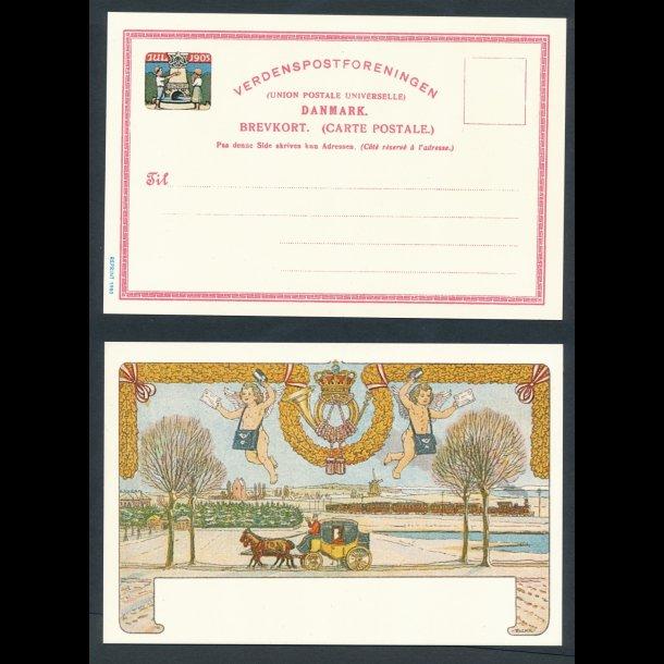 1905, postkort nytryk